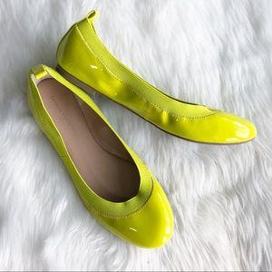 Banana Republic • Neon Yellow Ballet Flat